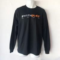 Synthplex Black Logo Long-Sleeve T-Shirt
