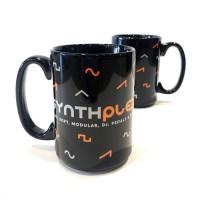 Synthplex Floating Waveforms Coffee Mug
