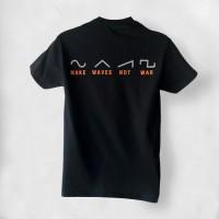 Make Waves Not War Synthplex T-Shirt
