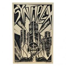 2019 Synthplex Inaugural Screen Printed Poster