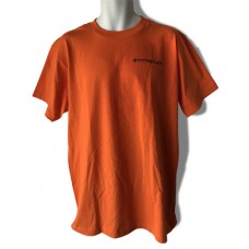 Synthplex Orange T-Shirt with one color logo